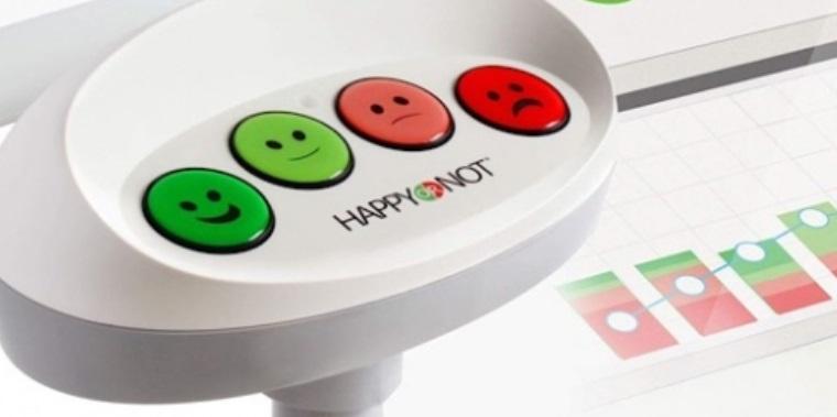 Easy customer feedback terminal