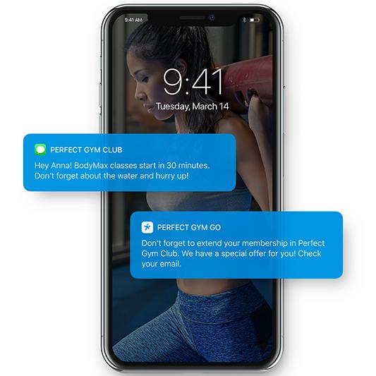 Perfect Gym Go Mobile App