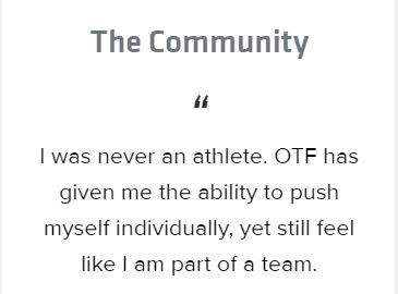OrangeTheory Community