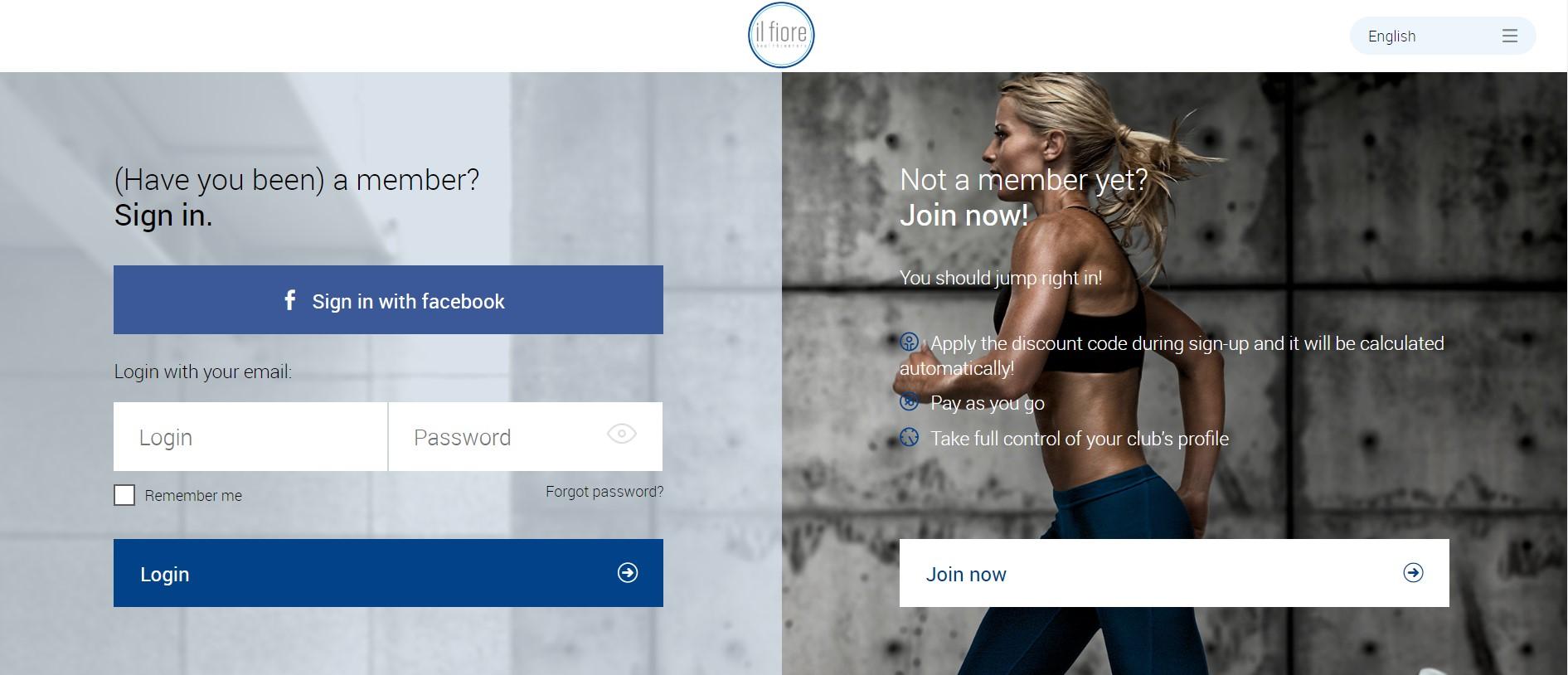 Perfect Gym Client Portal