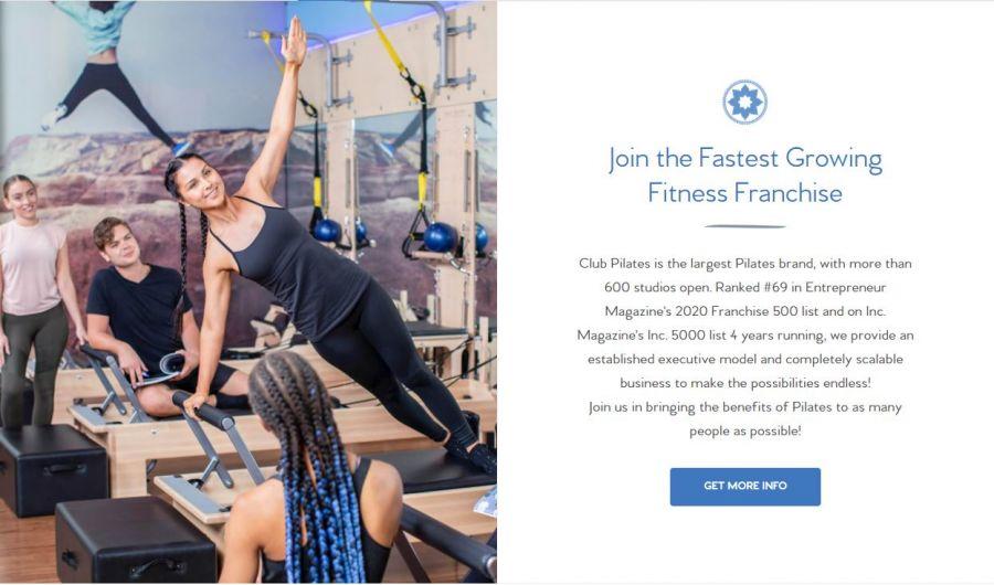 Club Pilates Franchuse