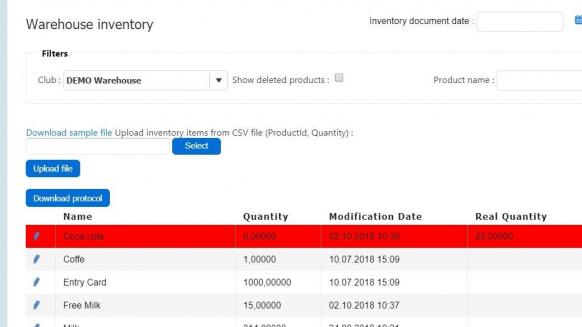 Perfect Gym streamline gym operations Inventory tool in PGM