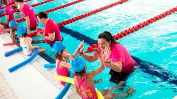 Perfect Gym Swim School lesson plan celebration of students