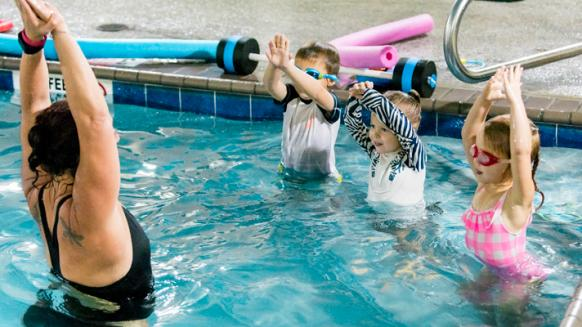 Perfect Gym Swim School lesson plan new class of students