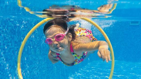 Perfect Gym Swim School lesson plan swim games