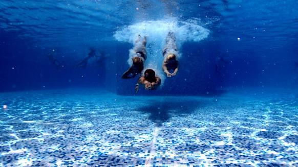 Perfect gym swim lesson plan divers