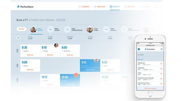 Perfect Gym streamline gym operations PG client-facing portal class booking